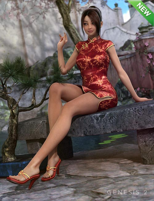 [Free] Xiao Mei's Finery HD for Aiko 6 and Genesis 2 Female(s)