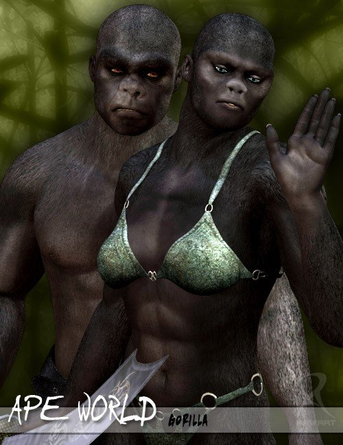 Ape World Gorilla
