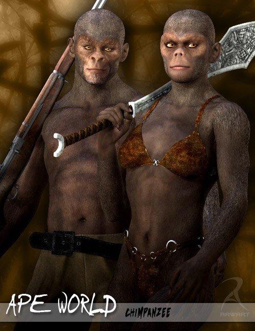 Ape World Chimpanzee