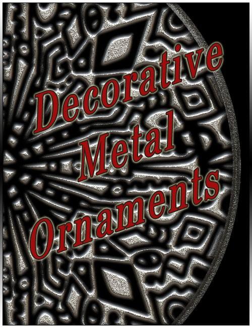 Decorative Metal Ornaments