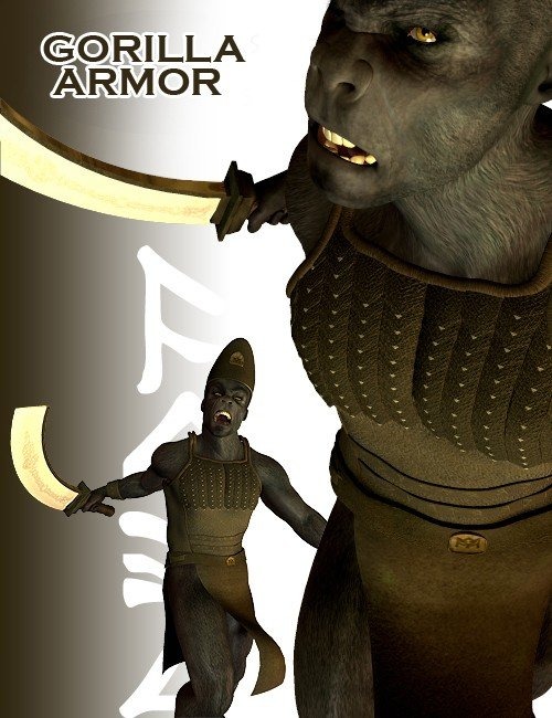 Ape World Gorilla Armor