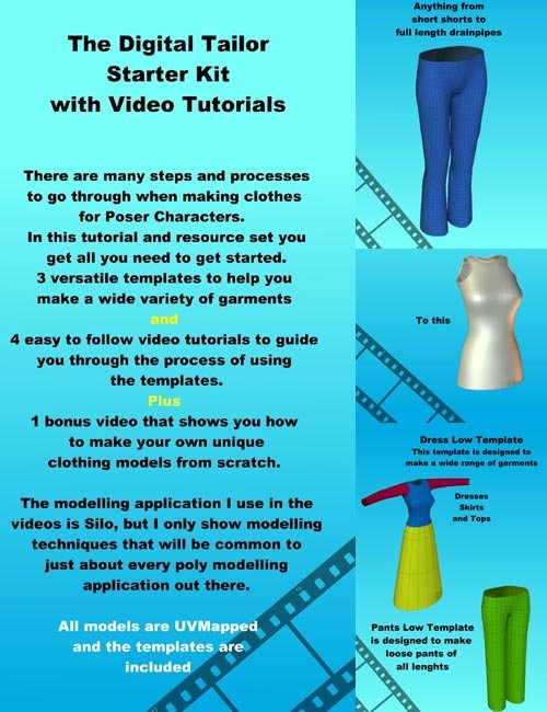 The Digital Tailor Starter Kit