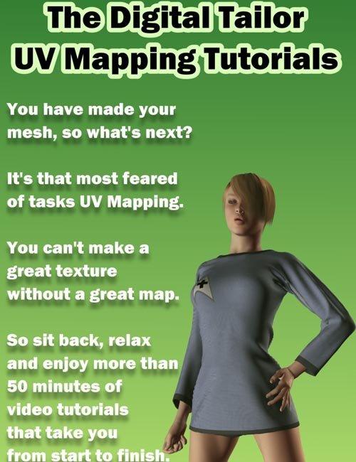 The Digital Tailor UV Mapping Tutorials