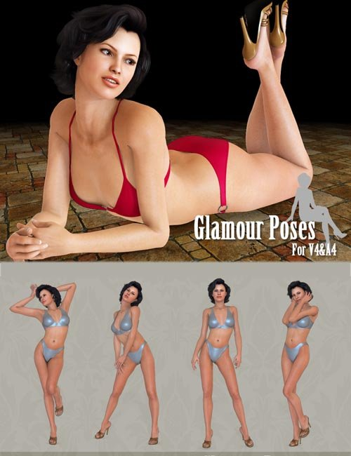 Glamour Poses For V4 and A4