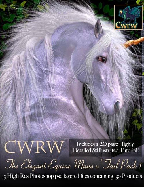 CWRW The Elegant Equine Mane 'N Tail Pack 1
