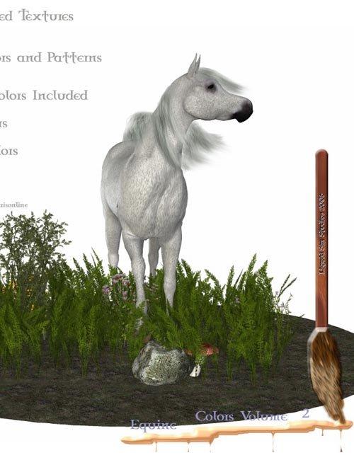 Equine Colors Vol. 2 for Daz Mil Horse