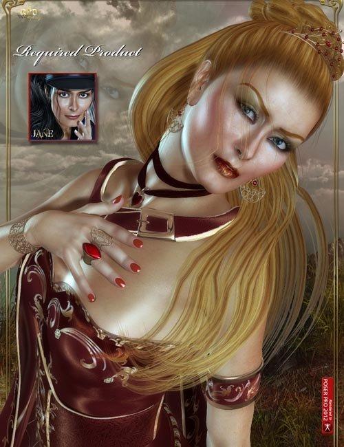 Jane-EXPANSION - Glamorous Red
