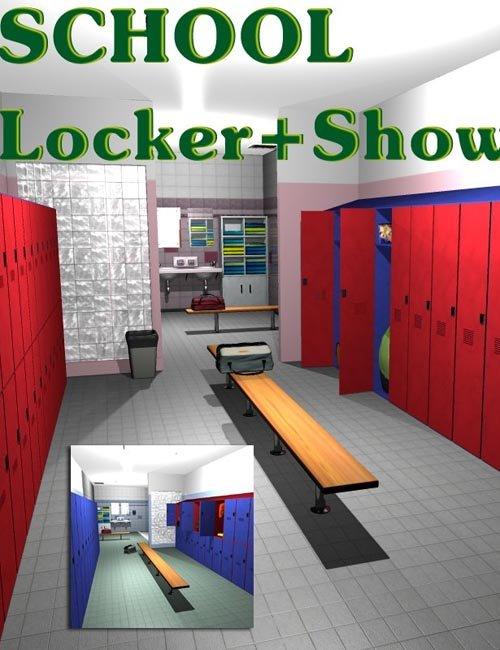 SCHOOL Locker with Showers