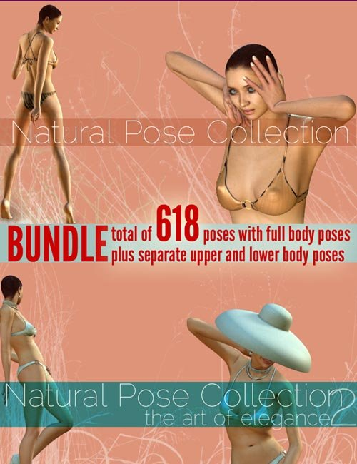 [Updated] Natural Pose Collection BUNDLE