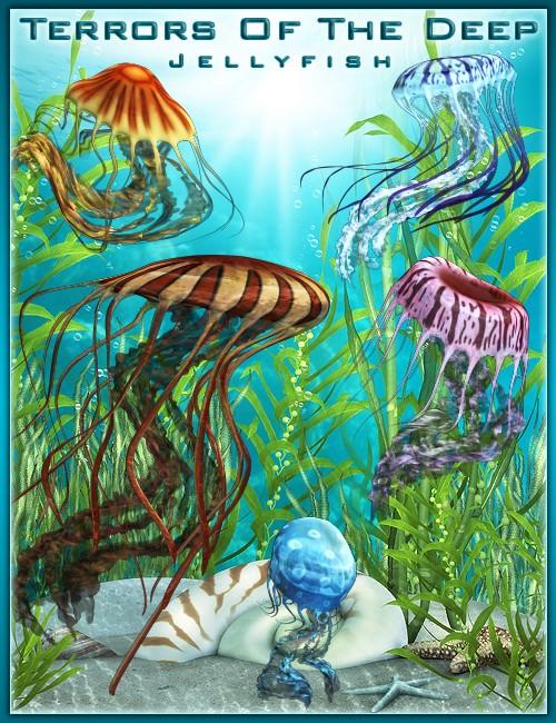 Terrors of the Deep: Jellyfish [ Emissive Iray UPDATE ]