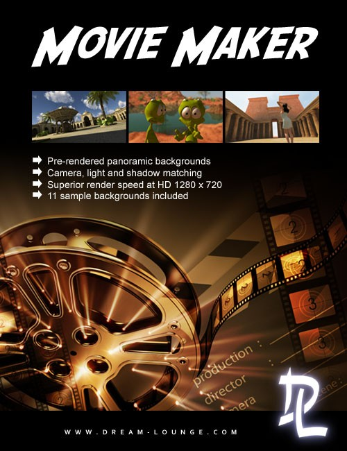 Movie Maker for DAZ Studio