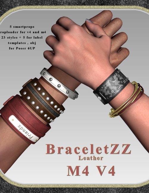 BraceletZZ Leather