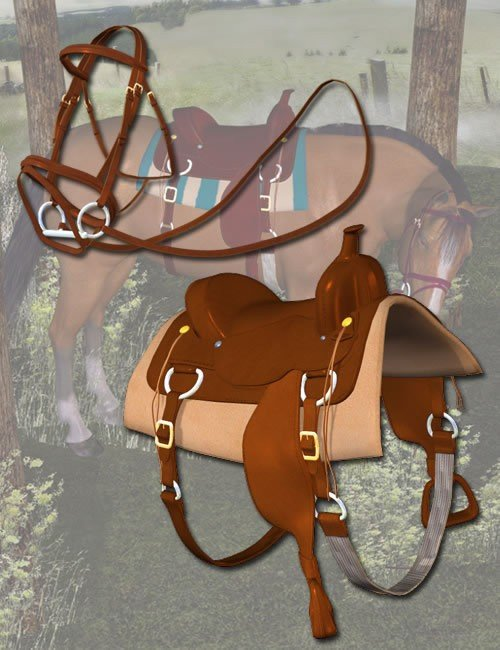 [UPDATE] Western Horse Tack for the Millennium Horse