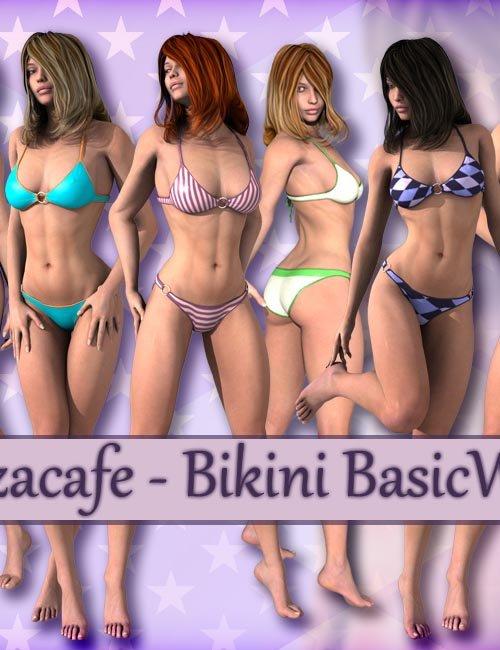 Tazacafe - Bikini BasicWear