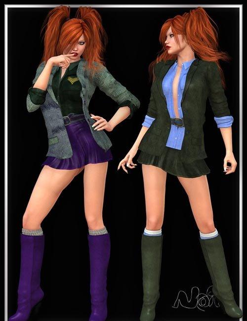 Noir Outfit Complete V4/A4/Elite