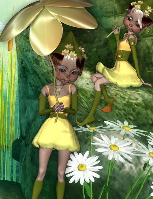 Mavka Flower Elf
