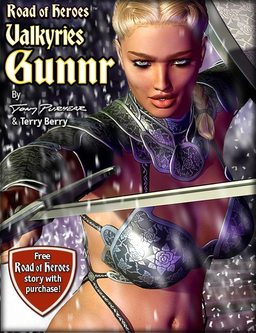 Gunnr The Valkyrie by Road of Heroes