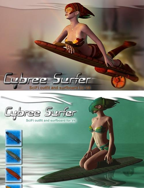 Cybree Surfer for V4