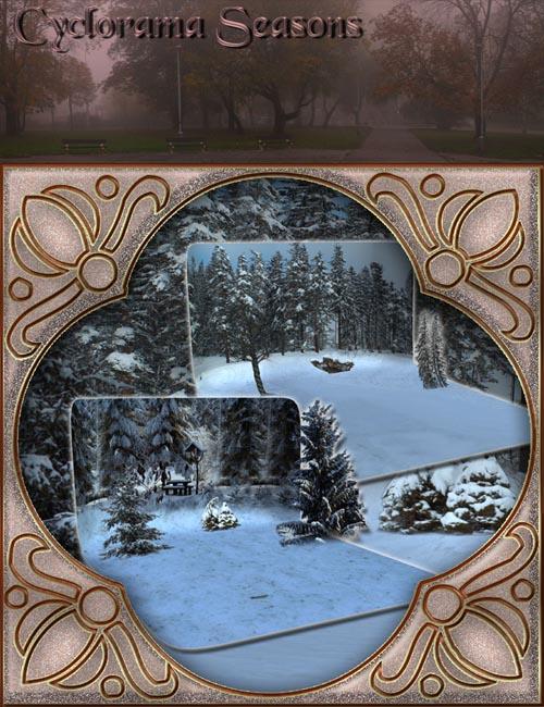 Cyclorama Seasons Autumn and Winter