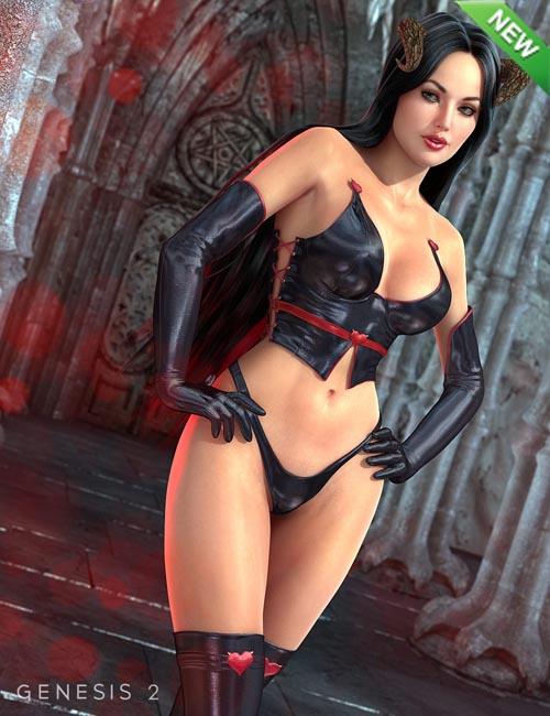Dark Heart for Genesis 2 Female(s)