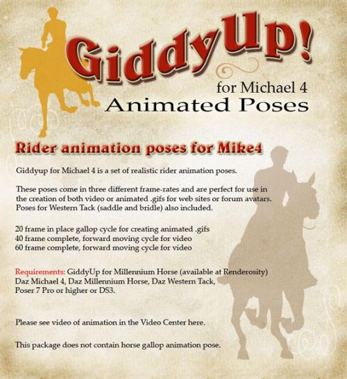 Giddyup for Mike 4 (gallop)