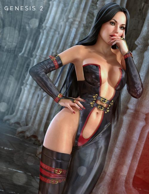 Mistress Lilith for Genesis 2 Female(s)