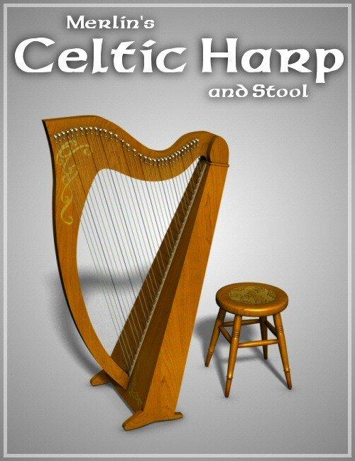 Merlins Celtic Harp
