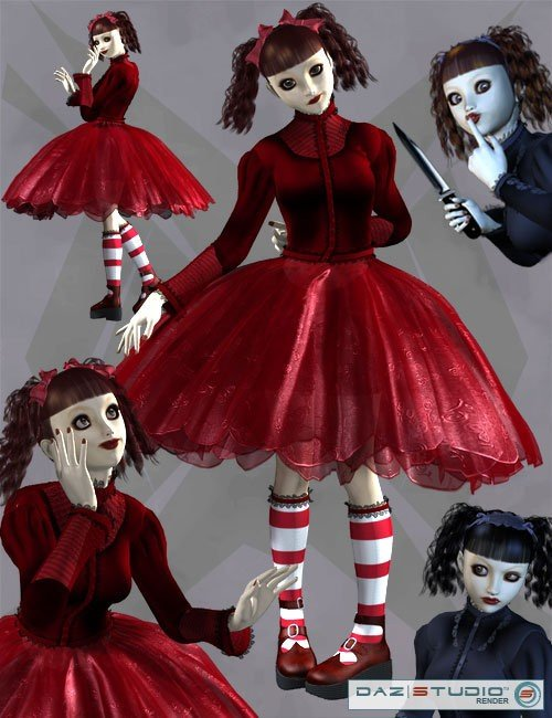 The Story is Dark-Poses for Gothic Lolita