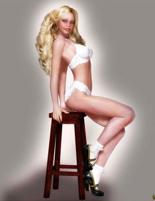 V4 Cover Girl Marsha
