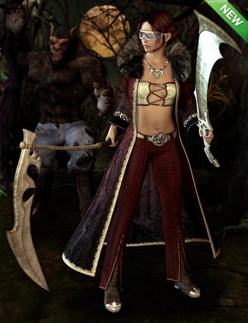 Werewolf Hunter for Genesis 2 Female(s)