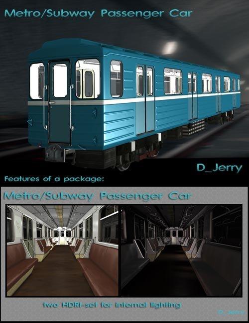 Metro Subway Passenger Car