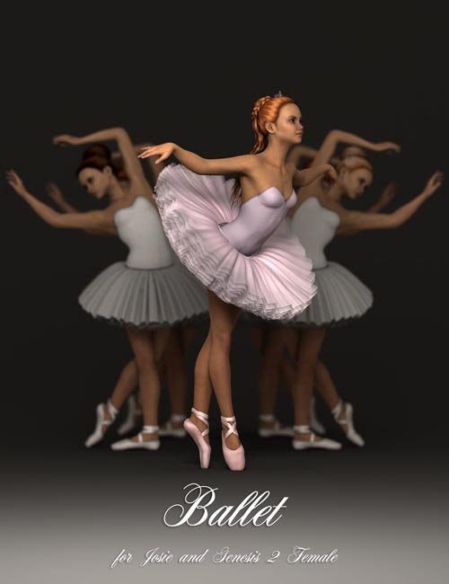 Ballet Poses for Teen Josie 6 and Genesis 2 Female(s)