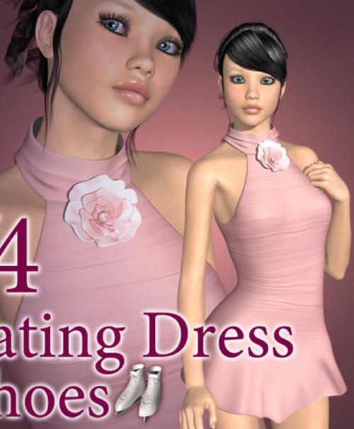 V4 Skating Dress + shoes