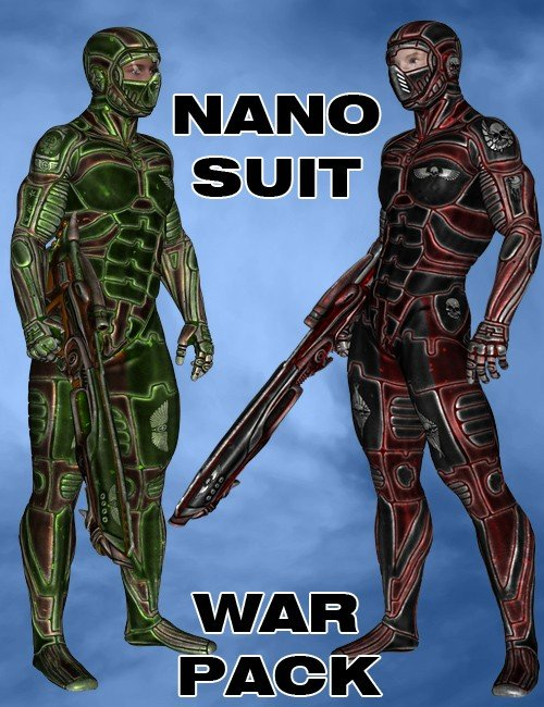 Nano Suit War Pack