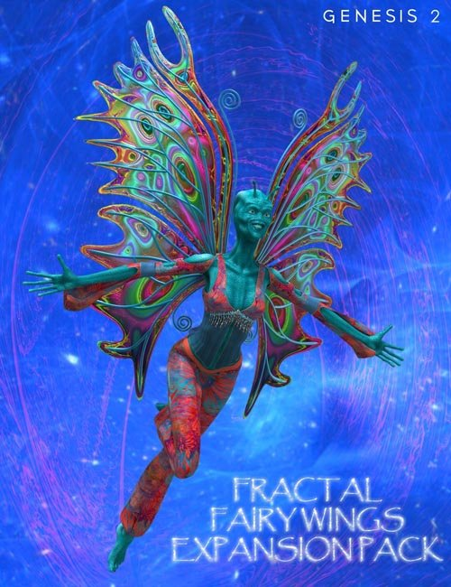 Fractal Fairy Wings Expansion Pack