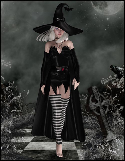 Salem Outfit for V4,A4, G4 and VAMP's Salem