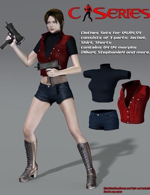 Slide3D C Clothes for V4,A4,S4