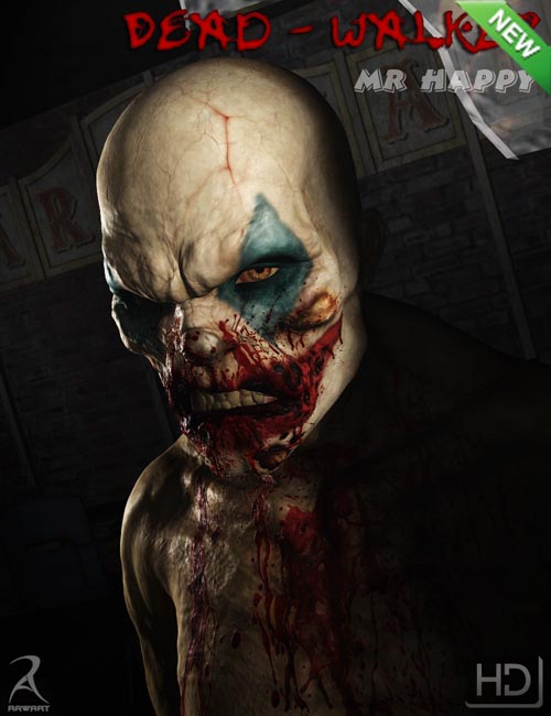 Dead Walker - Mr Happy HD [ Iray UPDATE ]