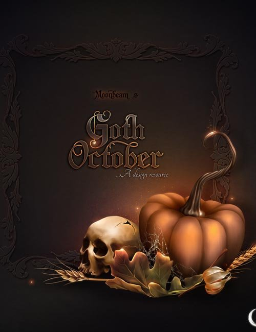 Moonbeam's Goth october