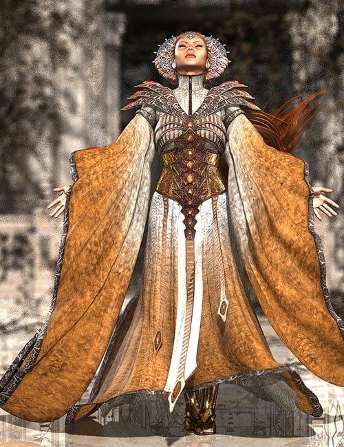 The GlacierQueen outfit for Victoria 4