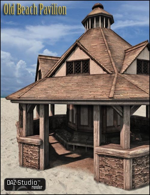 Old Beach Pavilion [ .DUF & Iray UPDATE ]