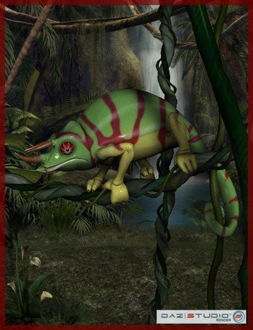 Toonimal Chameleon