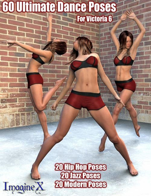 60 Ultimate Dance Poses for Victoria 6