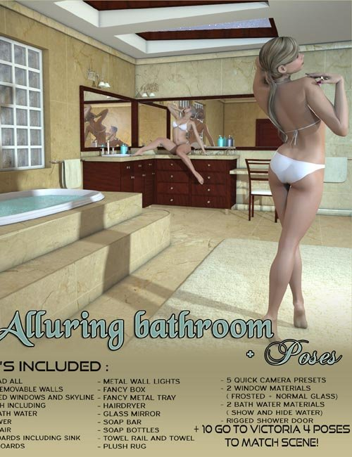 Z Alluring Bathroom + Poses