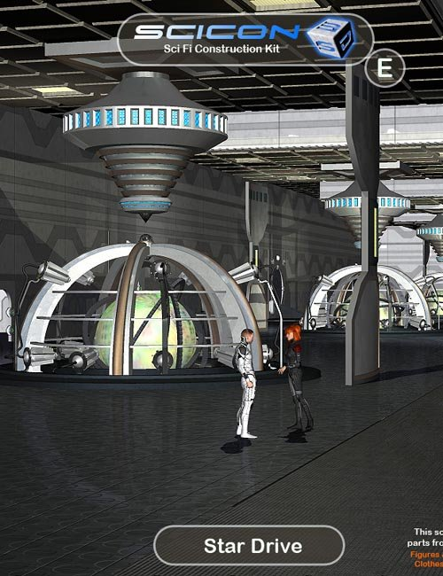 Scicon SciFi Constructor Set E