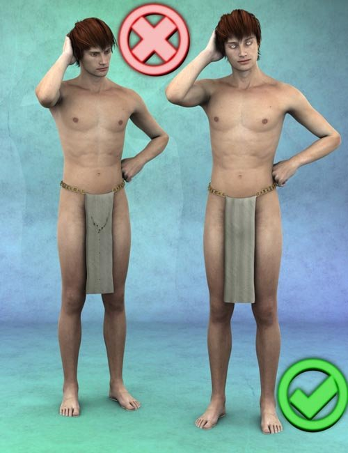 Clothing Smoothers for DAZ Genesis 2 Male(s)