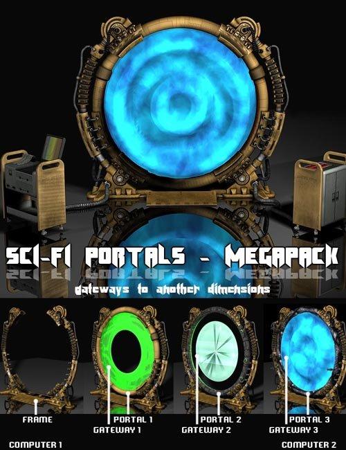 Sci-Fi Portals MEGAPACK