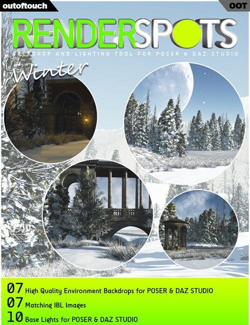 RenderSpots Winter for Poser and DAZ Studio