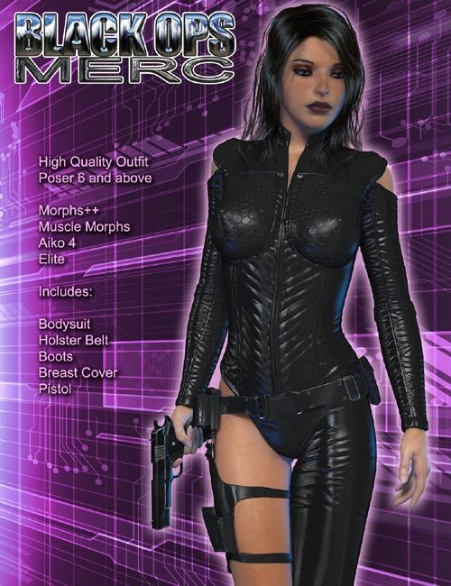 Exnem Black Ops Merc V4