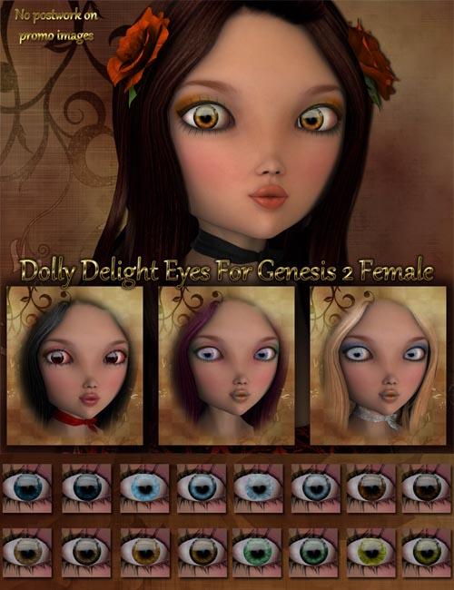 Dolly Delight Eyes For Genesis 2 Female